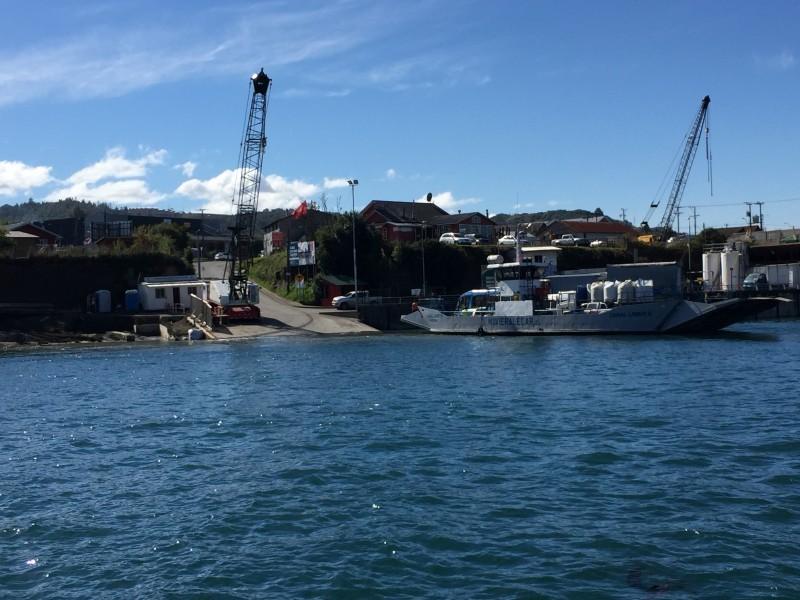 EMPORMONTT - Empresa Portuaria Puerto Montt - CONSERVACION INFRAESTRUCTURA PORTUARIA DALCAHUE: RAMPA DE TRANSBORDADORES
