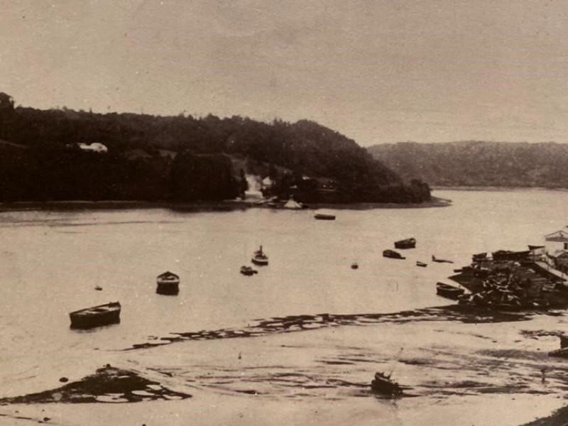 El comienzo de la actividad portuaria en #Angelmó   El Puerto y su Historia