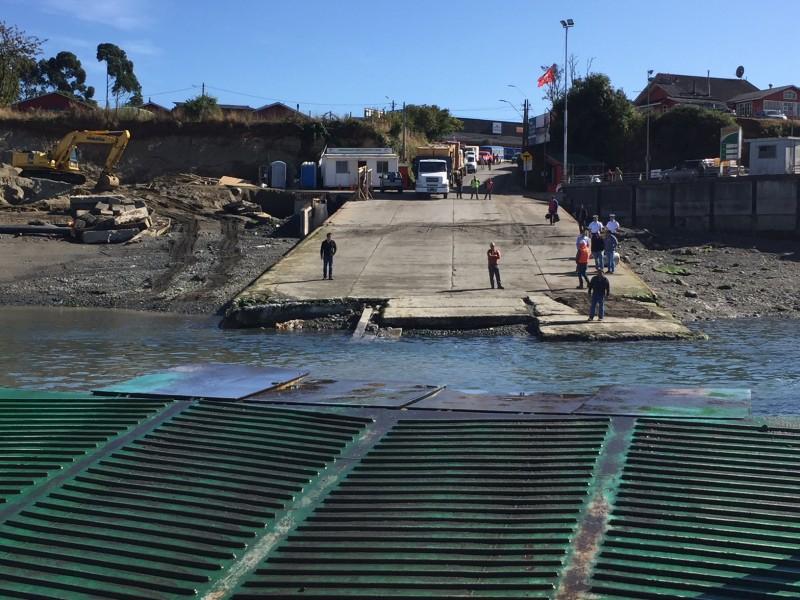 EMPORMONTT - Empresa Portuaria Puerto Montt - Protocolo que ordena traslado de transbordadores en canal Dalcahue