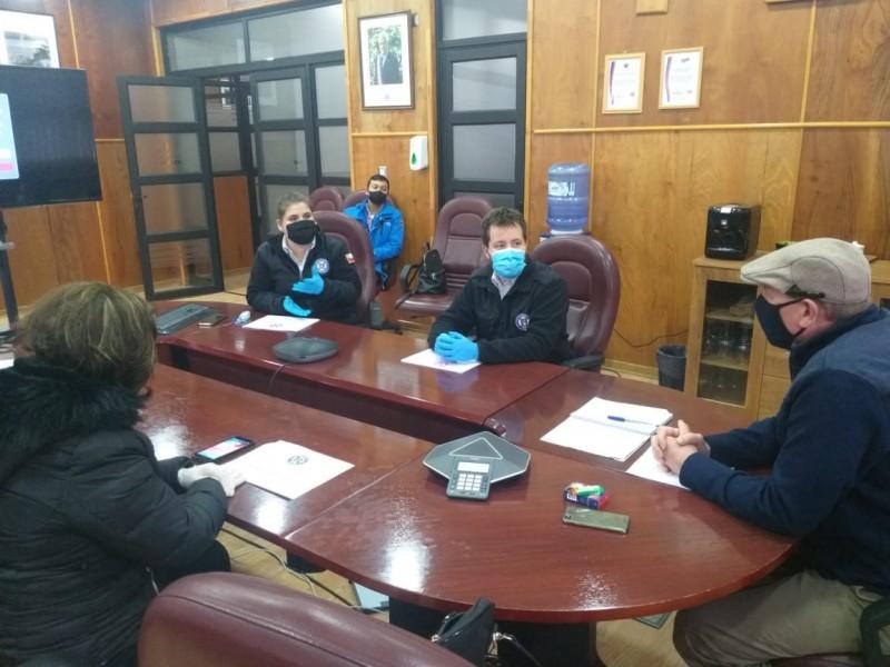 Inicio de conversaciones entre Bote Salvavidas de Puerto Montt y Empormontt