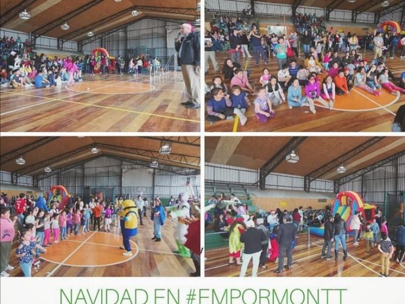 EMPORMONTT - Empresa Portuaria Puerto Montt -  NAVIDAD CON LOS TRABAJADORES DE EMPORMONTT