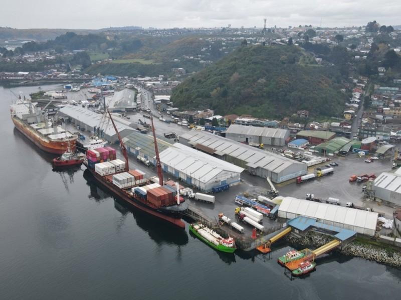 Puerto de Puerto Montt realiza tomas de PCR a sus trabajadores
