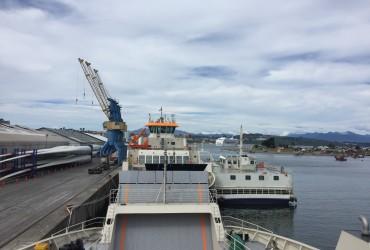 Inauguración de barcazas para conectividad en EMPORMONTT
