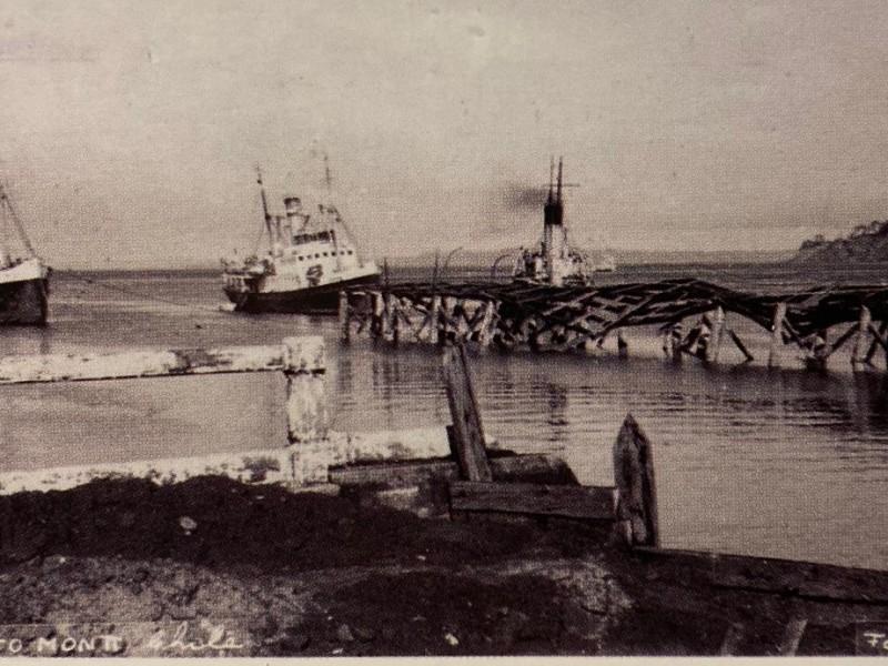 Terremoto 1960 en nuestro puerto de #PuertoMontt